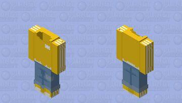 ~ Adidas Yellow ~ OB Minecraft Skin