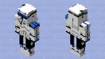 Captain Rex (Bedrock skin) Minecraft Skin