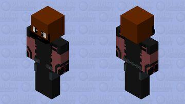 Pistoleiro (Esquadrão Suicida-Sem Máscara) Minecraft Skin