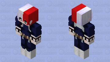 Shooto Todoroki HD (My Hero Academia) Minecraft Skin