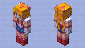 Sailor Moon HD Minecraft Skin