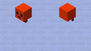 orange flying kirby Minecraft Skin