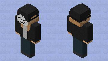 Asahi ichi (With Mask) Minecraft Skin
