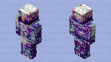 Albinix Droid [HD Robot Skin] Minecraft Skin