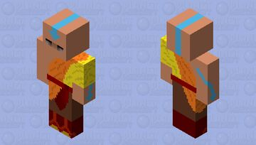 Avatar Aang(Young) Minecraft Skin