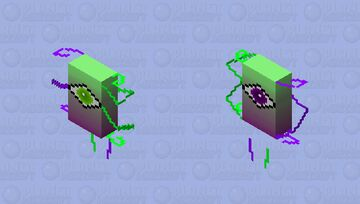Eye of the Beholder Minecraft Skin