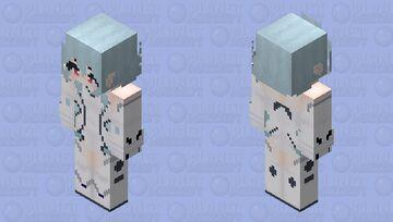 White Heart (Hyperdimention Neptunia) HD Minecraft Skin