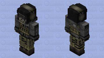 HD Call of Duty Ghost Minecraft Skin
