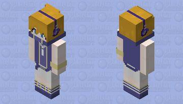 The World Ends WIth You - Neku Sakuraba Remake Minecraft Skin