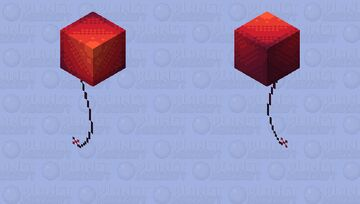 A balloon to you || 10 year anniversary Minecraft Skin