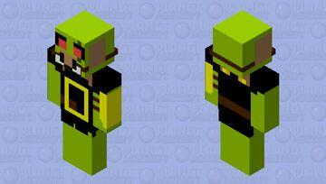 Creeper Brute Minecraft Skin