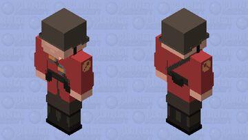 (TF2) Soldier skin HD Minecraft Skin