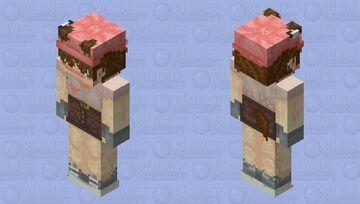 Miko, the Tanuki Minecraft Skin