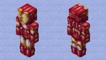 🎁 Iron Man - Secret Santa skin for Iron_Man_Fan 🎁 Minecraft Skin
