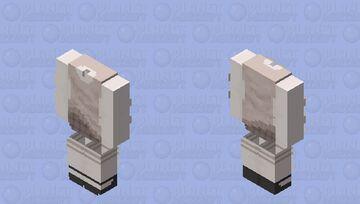 Vest and skirt base Minecraft Skin