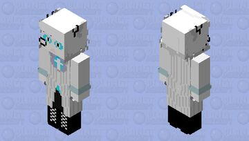 7P Alastor Minecraft Skin