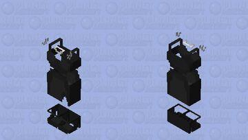Black dress base Minecraft Skin