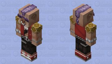 Bebop - Classic TMNT Cartoon Minecraft Skin