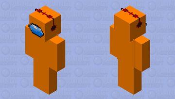 CaptanSparklez is among us Minecraft Skin