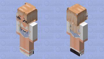 White Button Up with Short Shorts Minecraft Skin