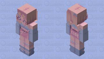 𝖈𝖑𝖔𝖊 𝖇𝖗𝖆𝖙𝖟 Minecraft Skin
