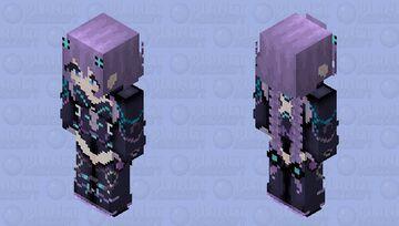 Purple Heart HD (Hyperdimention Neptunia) Minecraft Skin