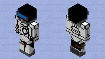 Space Pilot 2.0 Minecraft Skin