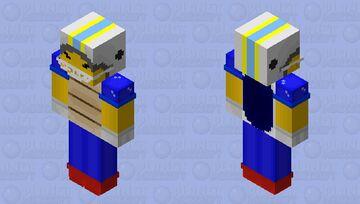 Chargin' Chuck! Minecraft Skin