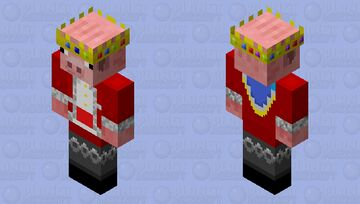 Some guy on reddit made technoblade skin hd I wanna make it popular so shout out to him and everything Minecraft Skin
