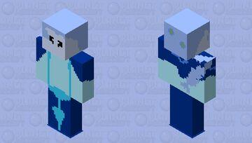 The ice princess Minecraft Skin
