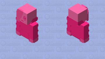 Spooky Pinky Minecraft Skin