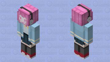 Rina Chan Board! Minecraft Skin