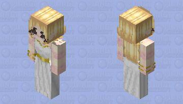 -Zelda BOTW Goddess Dress- Minecraft Skin