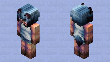 Michiru Kagemori - HD casual edition Minecraft Skin