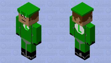Luigi the racer Minecraft Skin