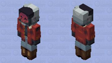 Cyberpunk HD Minecraft Skin