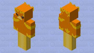 Torchic player skin Minecraft Skin