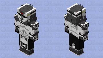 Commander Wolffe Minecraft Skin