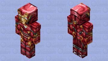 Endgame Iron Man HD Minecraft Skin