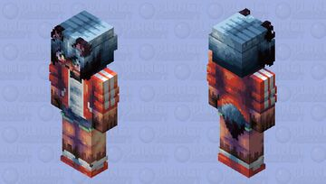 Michiru Kagemori - HD edition Minecraft Skin