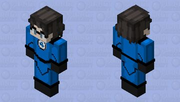 Reed Richards/Mr. Fantastic Minecraft Skin