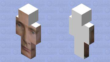 Putin face skin Minecraft Skin