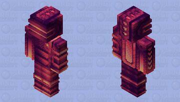 Titans of Saturn, but HD Minecraft Skin