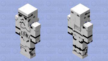 Imperial Stormtrooper 128x128 Minecraft Skin