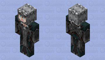 First Attempt To Make a Female Knight   2X HD Minecraft Skin