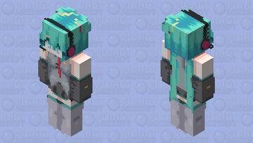 +({ Hatsune Miku - HD ver. })+ Minecraft Skin