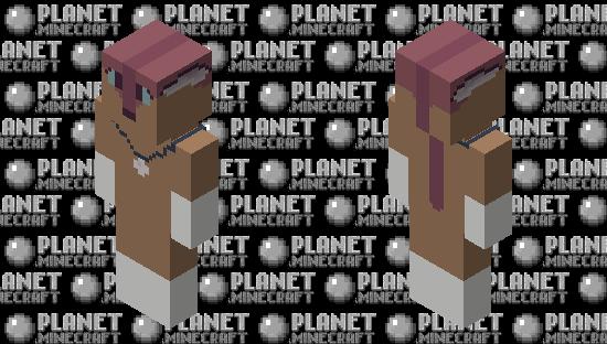 Scarlett fox Minecraft Skin