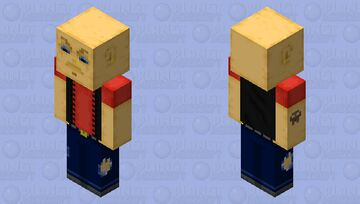 Don't Judge A Book By Its Cover - [Read The Description Below] Minecraft Skin