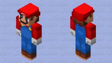 Super Mario Bros Minecraft Skin