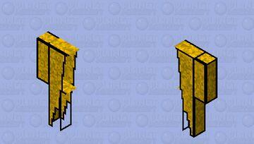 Rocket elytra ski Minecraft Skin
